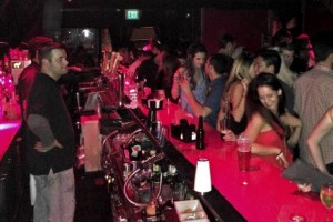 Comet Club - Bar Area on Thursday Night